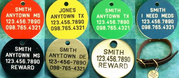 Our Pet ID Tags